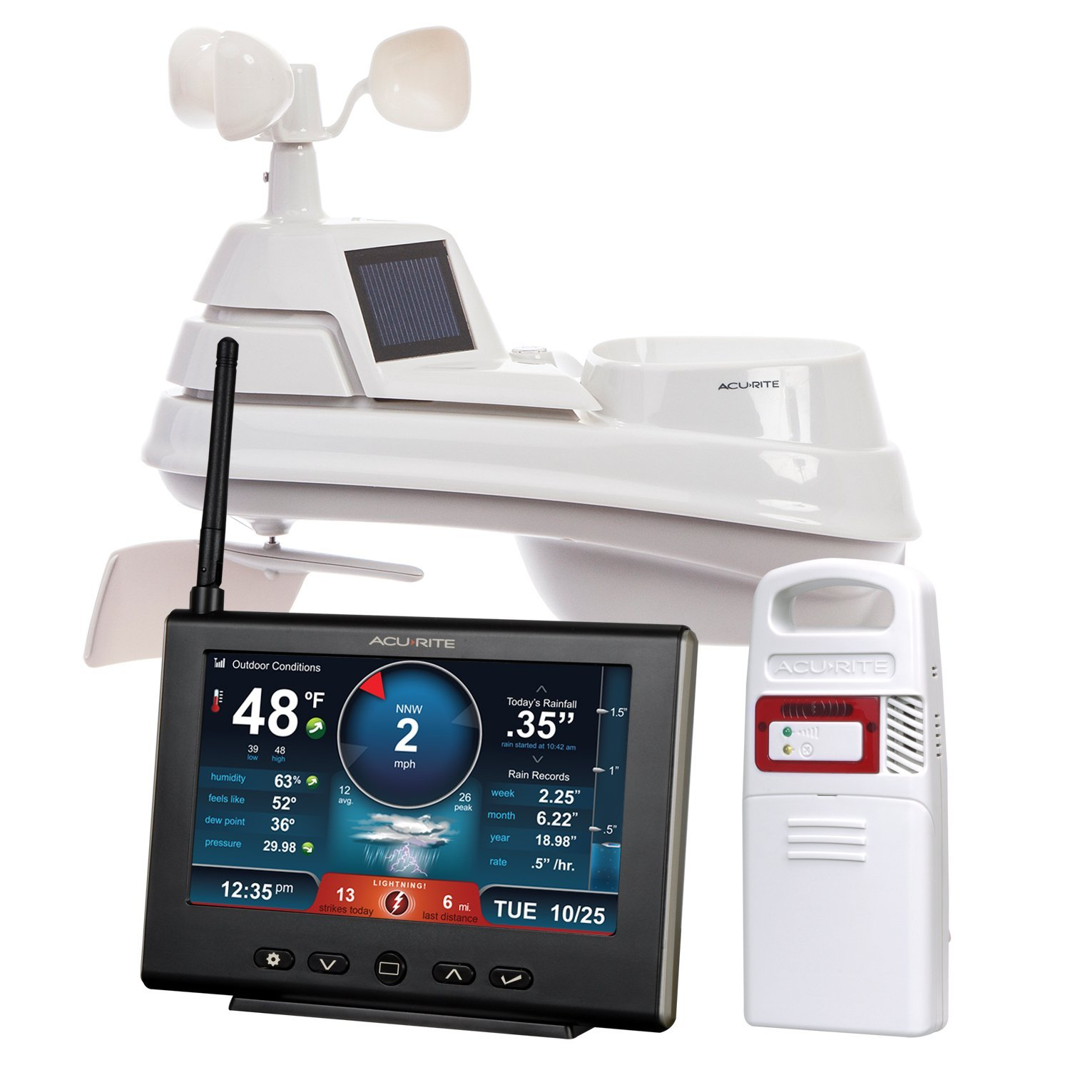 AcuRite 01024 Pro Weather Station with Lightning Detector