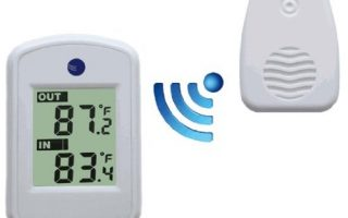 Ambient Weather WS-04-WHITE Wireless Thermometer