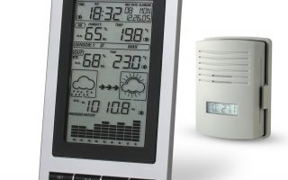Blackshark Wireless Indoor & Outdoor Digital Weather Station Clock
