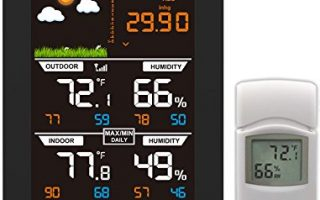 Ambient Weather WS-2801 Advanced Wireless Color Forecast Station