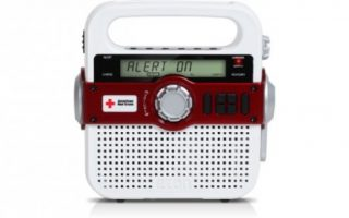 Eton American Red Cross Multi-Powered Weather Alert Radio