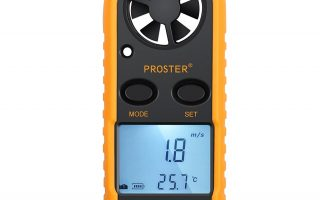 Proster Digital LCD Wind Speed Anemometer